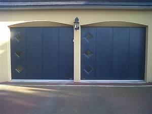 installation thermique hublot porte de garage With porte de garage coulissante jumelé avec ouverture de porte paris 2