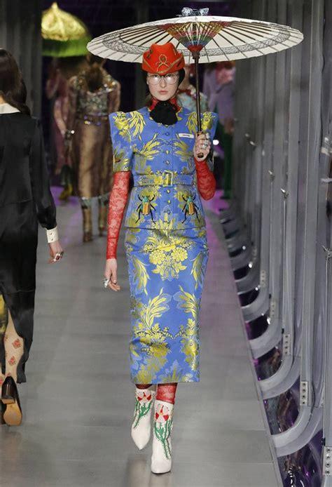 #MFW Gucci Fall Winter 2017.18 Womenswear & Menswear ...