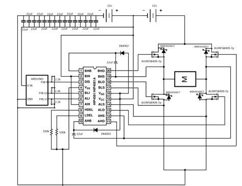 Wire Diagram 24v Driver by Voltage 12v Driver 24v H Bridge Electrical Engineering