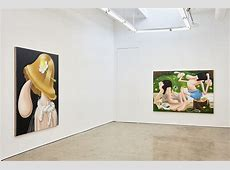 """Showing Louise Bonnet – """"Paintings"""" Mier Gallery"""