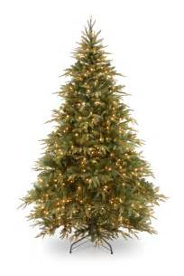Pre Lit Christmas Trees Asda by 7ft Pre Lit Weeping Spruce Feel Real Artificial Christmas
