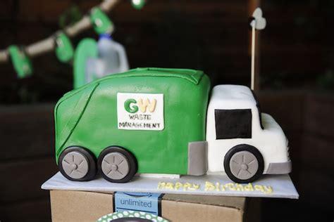 karas party ideas trash bash garbage truck birthday