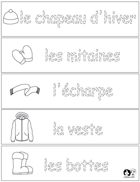 155 best french worksheets for children fran 231 ais
