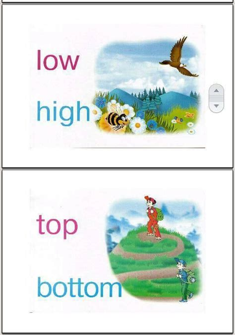adjectives flashcards opposites flashcards game cards