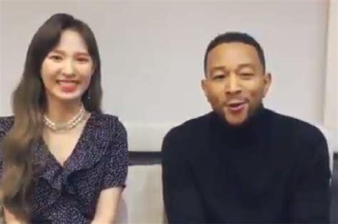 Gokil, John Legend Dan Wendy 'red Velvet' Umumkan Akan