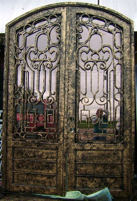 wrought iron entry doors custom built wrought iron door photo gallery page 1