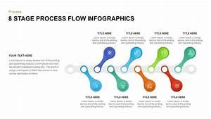 8 Stage Process Flow Infographic Template