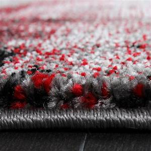 Teppich Rot Grau : teppich modern designer teppich leinwand optik meliert schattiert grau rot creme alle teppiche ~ Whattoseeinmadrid.com Haus und Dekorationen