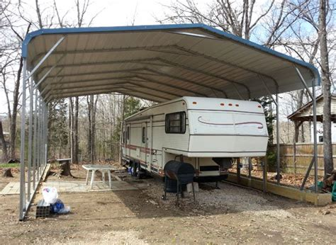 Rv Carport by Great Prices On Metal Rv Covers Customize An Rv Carport
