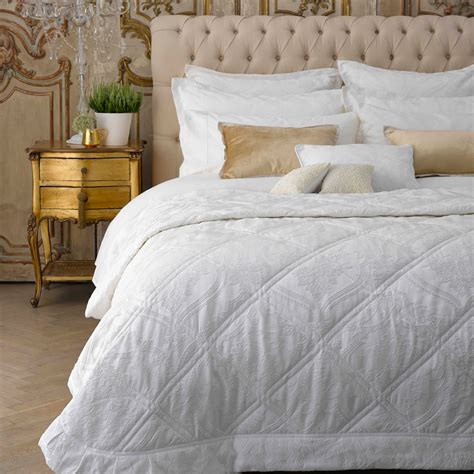 rochester bed linen warm white
