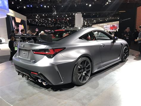 lexus rc  track edition adds bite  rc lineup
