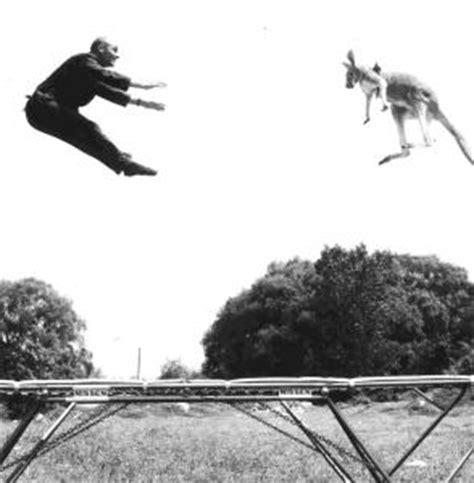 george nissen  gymnast  invented trampoline