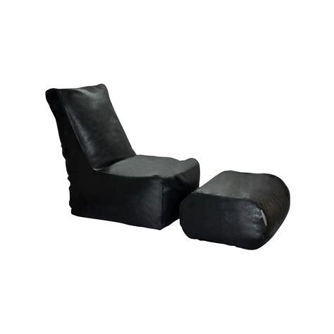 zen bean bag chair black