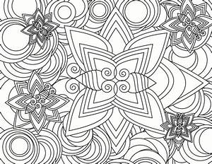 Abstract Coloring Pages For Adults - AZ Coloring Pages