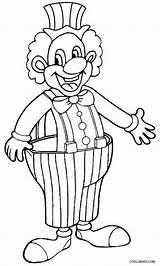 Clown Coloring Pages Happy Drawing Draw Evil Printable Print Creepy Scary Cool2bkids Colorings Getcolorings Getdrawings sketch template