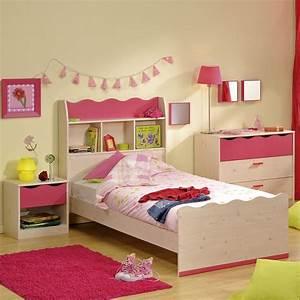 Bett Regal Kopfteil : kinderbett m dchenbett bett 90x200 mit regal in kiefer nachbildung pink ebay ~ Sanjose-hotels-ca.com Haus und Dekorationen