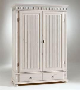 Kleiderschrank 138x199x62cm 2 Holztren 2 Schubladen