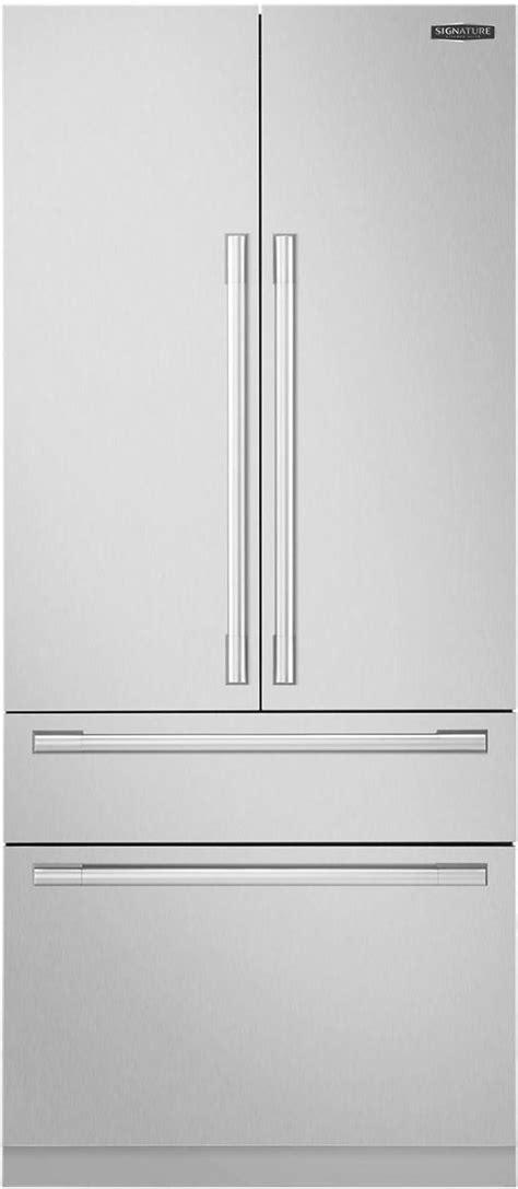 signature kitchen suite  cu ft panel ready built  french door refrigerator sksfdp