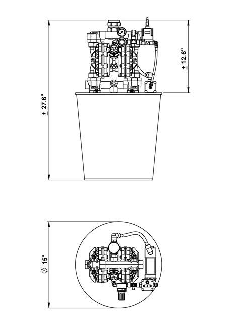 Z Glue Diaphragm Pump / Variable Volume | Glue Machinery Corp