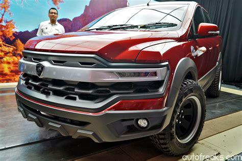 concept truck proton pickup truck concept unveiled at alami proton