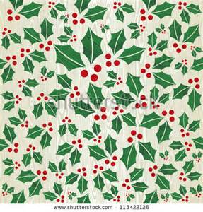 christmas wrapping paper designs christmas wooden mistletoe shape seamless pattern
