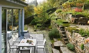 Berg Des Garten : privatgarten garten am hang naturnaher garten gestaltet von peter berg g rten garten ~ Indierocktalk.com Haus und Dekorationen