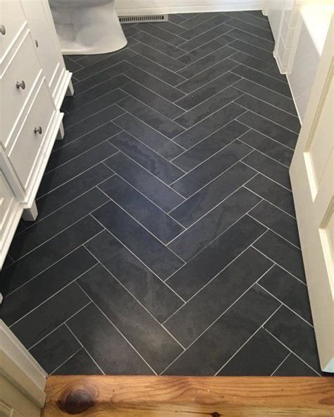 herringbone tile floor kitchen contemporary with accent before after 39 s worth the wait bathroom the