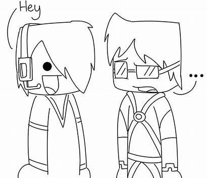 Minecraft Coloring Pages Face There Skin Wrong