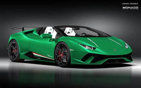 2019 Lamborghini Huracan Performante Spyder All But