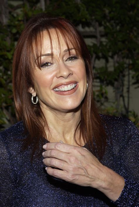 Patricia Heaton Long Straight Cut with Bangs   Patricia