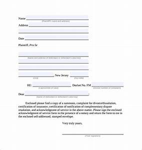 Appreciation Letter Sample Pdf Free 23 Sample Acknowledgement Of Service Forms In Pdf