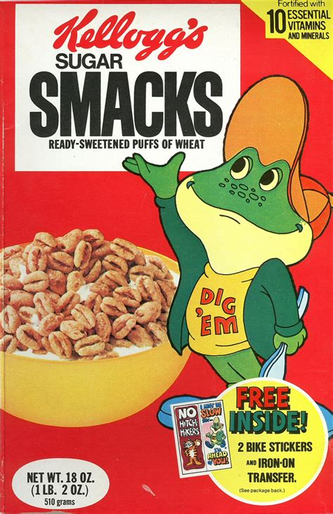 Sugar Smacks cereal | Wow, look what I dug out of the ...
