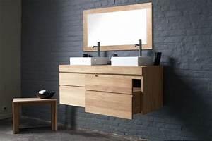 Meuble Salle De Bain A Poser : meuble vasque a poser ~ Teatrodelosmanantiales.com Idées de Décoration
