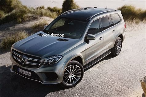 New Mercedes Gls by Mercedes Gls Or The New Gl Class Leaked Before La