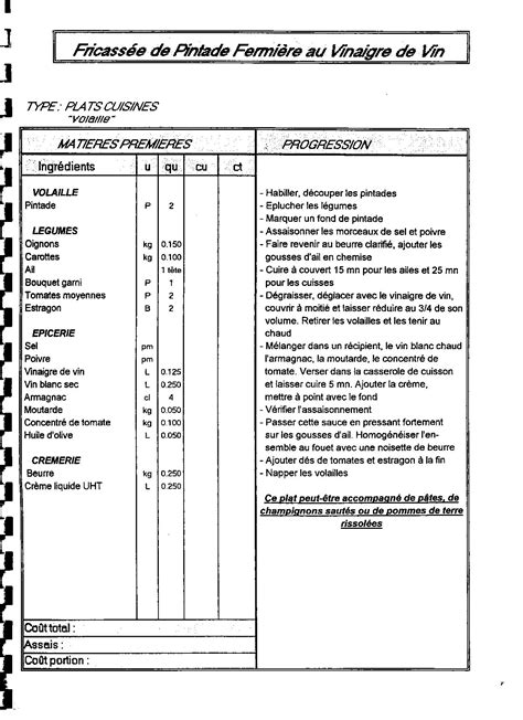 fiche technique cuisine pdf fiche technique vierge cuisine uteyo