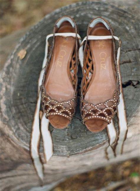enchanting rustic outdoor wedding