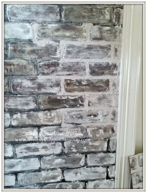 faux exposed brick 10 diy faux and real exposed brick walls shelterness