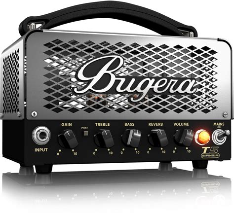 testata valvolare bugera t5 infinium testata valvolare per chitarra 5 watt