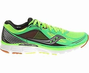Men s Saucony Kinvara 5 Running Shoe Neon Green Black