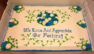 Pastor Appreciation Cake