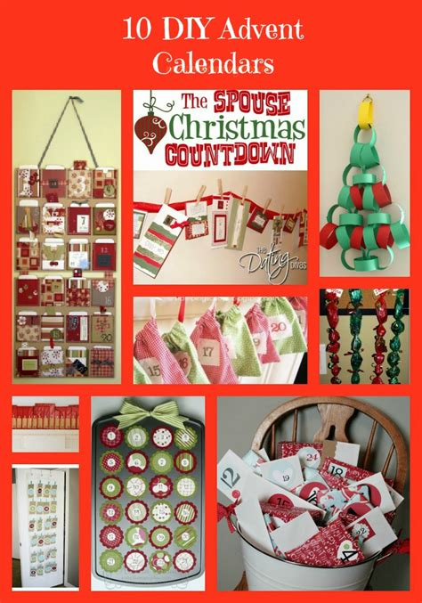 diy advent calendar ideas diy christmas advent calendars 10 ideas for easy diy advent calendars