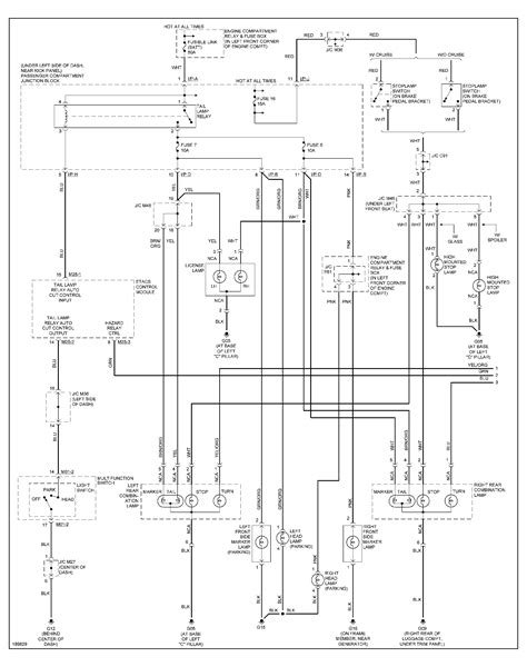 Hyundai Headlight Wiring Schematic by I Need A Diagram Of The Wiring Harness From The Light