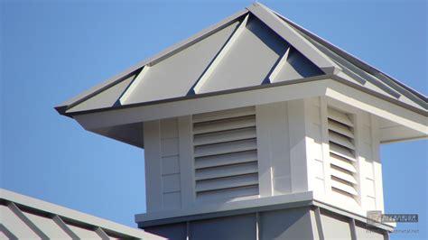 Cupola Roof Gray Aluminum Cupola On Metal Roof Riverside Boston Ma