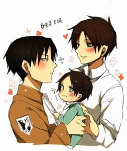 Levi x eren | Attack on Titan | Pinterest | Levis, Anime ...