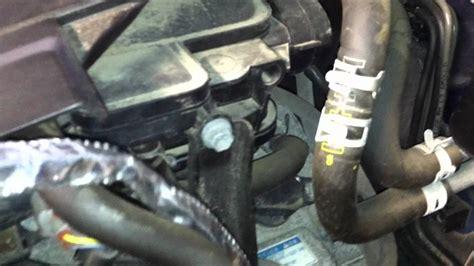 5 16 fuel line 2005 2011 v6 engine block heater install wmv