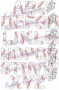 13 watercolor alphabet font png images cursive alphabet With baseball letter art