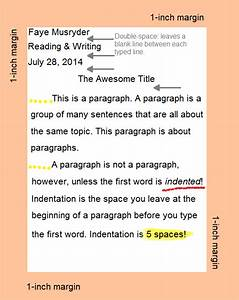Essay Formatting Guide For Beginner Essayists