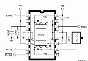 a3952s dc servo motor controller circuit diagram With dc motor driver with l6203