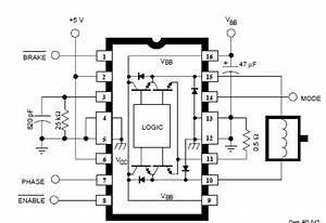 a3952s dc servo motor controller circuit diagram With servo motor circuit