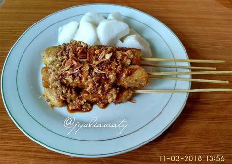 Indonesia adalah negeri asal mula juga hidangan sate dari pulau lombok. Resep Sate Kere (Sate Tempe Gembus) #pr_dibumbukacangin oleh Yuliawaty - Cookpad